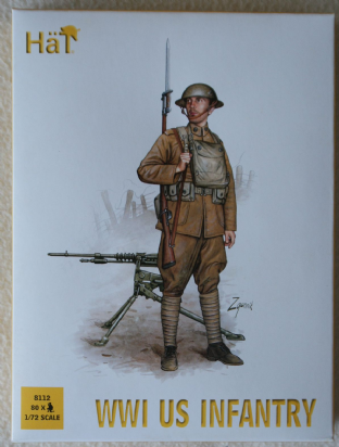 HaT 1/72 HAT8112 US Infantry (WW1)